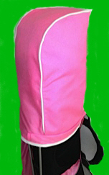 Fashion Sport, Pink w/ White Trim Cordura Cover & Cable Lock